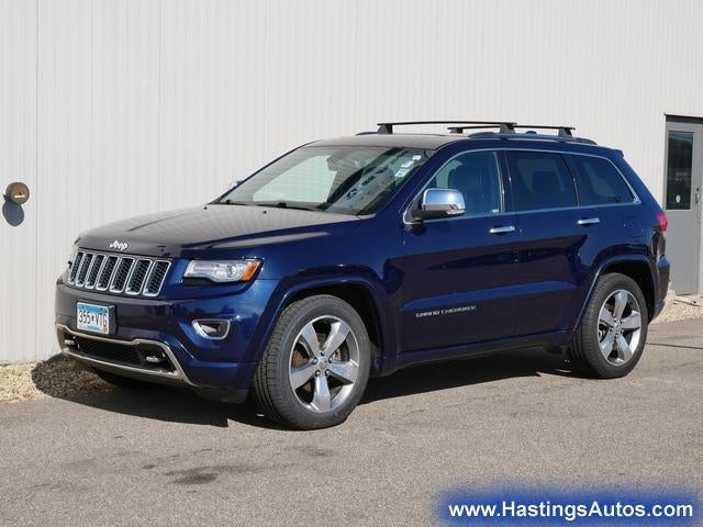 Used 2014 Jeep Grand Cherokee Overland with VIN 1C4RJFCG4EC194263 for sale in Northfield, Minnesota