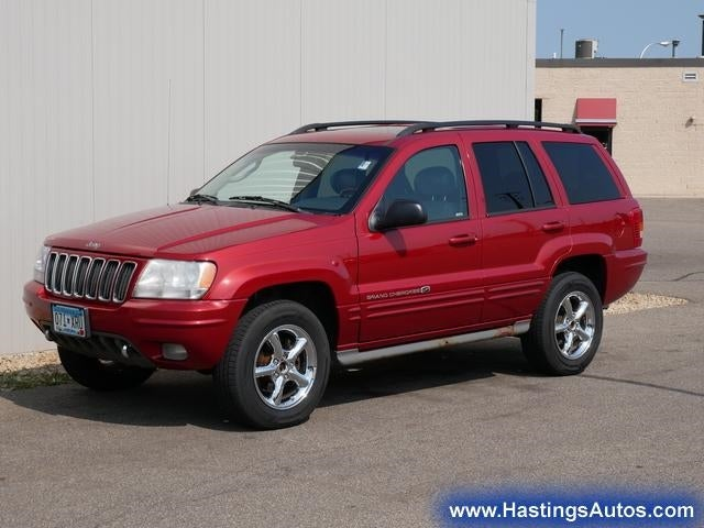 Used 2002 Jeep Grand Cherokee OVERLAND with VIN 1J8GW68J02C145207 for sale in Northfield, Minnesota