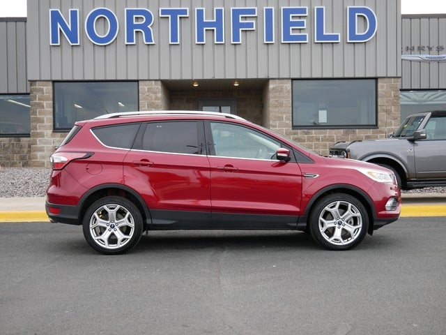 Used 2018 Ford Escape Titanium with VIN 1FMCU9J90JUD29595 for sale in Northfield, Minnesota