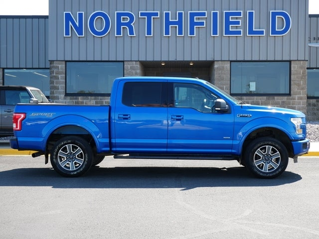 Used 2016 Ford F-150 XLT with VIN 1FTEW1EP6GKD11186 for sale in Northfield, Minnesota