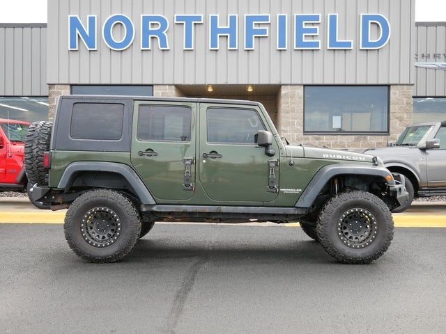 Used 2008 Jeep Wrangler Unlimited Rubicon with VIN 1J4GA69188L580273 for sale in Northfield, Minnesota