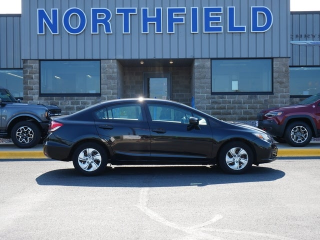 Used 2015 Honda Civic LX with VIN 2HGFB2F5XFH558978 for sale in Northfield, Minnesota